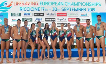 Riccione 2019, Europei Lifesaving | National team Italia al comando in vasca