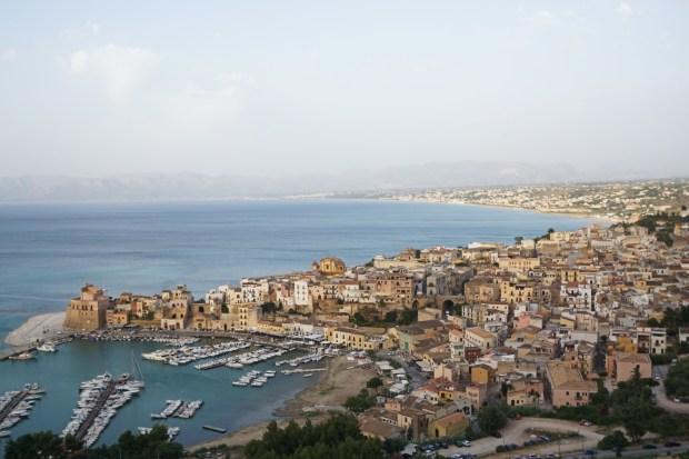 Panorama over Castellammare del Golfo