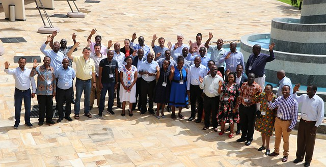 Participants group photo during the Africa RISING East and Southern Africa Project review and planning meeting held in Dar es Salaam, Tanzania on 10 – 11 September 2019. Photo credit: Eveline Massam/ IITA.