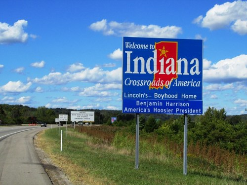 Entering Indiana