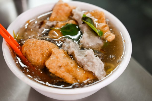 顏記魷魚焿    台北/大同–47年歷史老牌在地魷魚焿