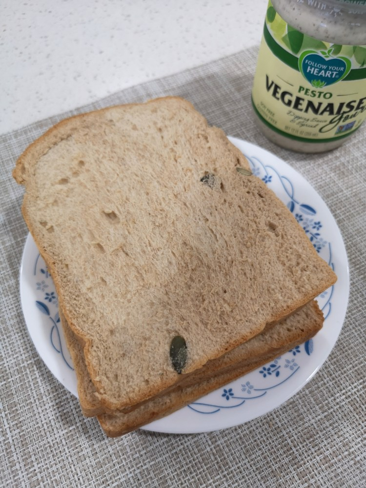 Multigrain Sourdough Loaf (PhP 115) with Vegenaise egg-free mayonnaise