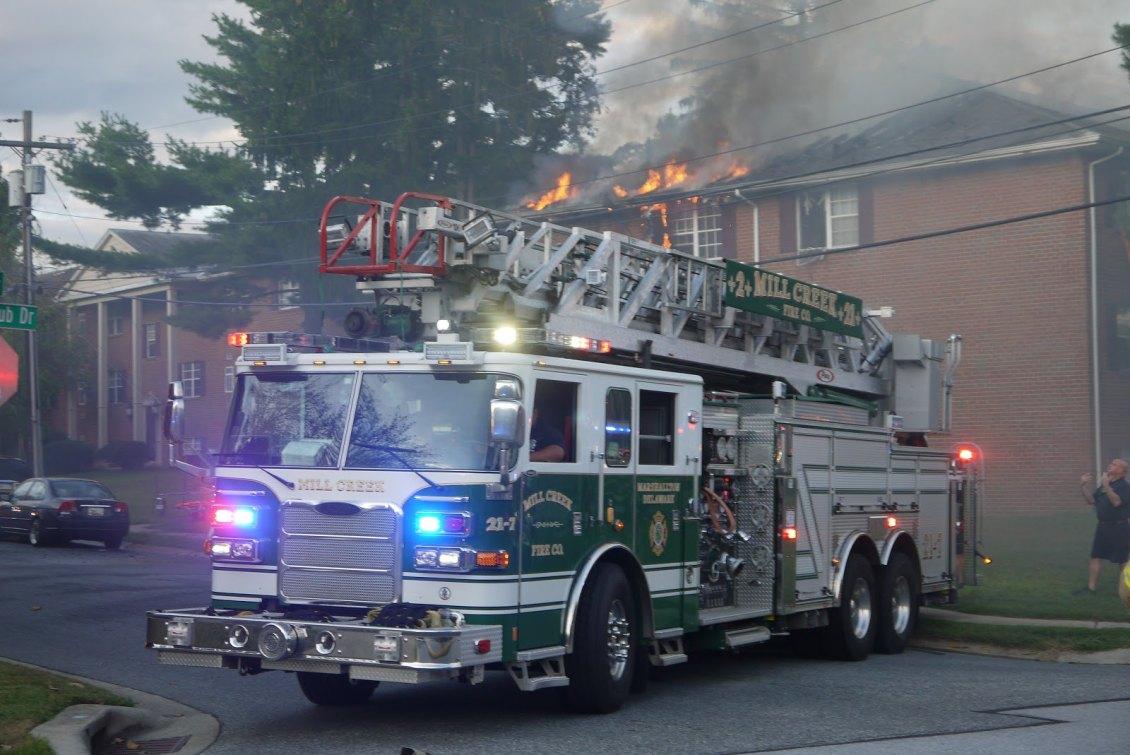 Fairfield apartment fire 1