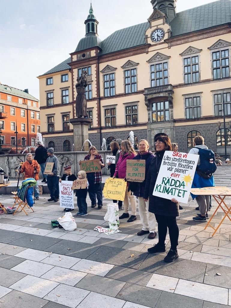 Klimatstrejk Eskilstuna - reaktionista.se