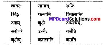 MP Board Class 6th Sanskrit Solutions Chapter 14 जन्तुशाला 1