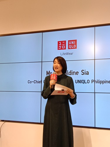 Uniqlo PH COO Geraldine Sia