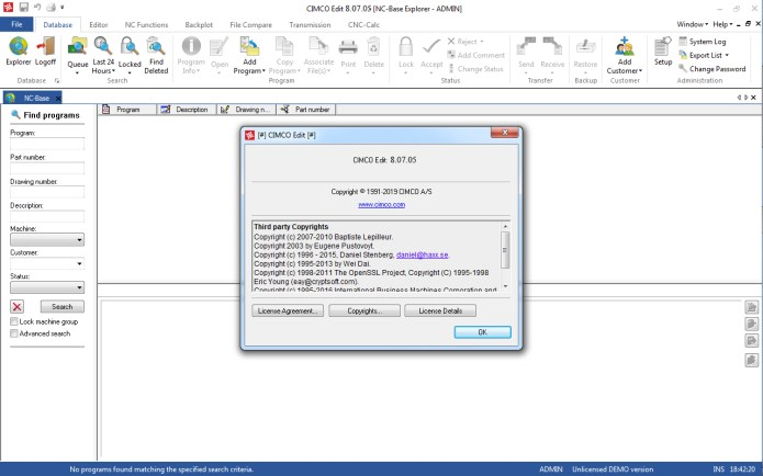 CIMCO Software 8.07.05 full license