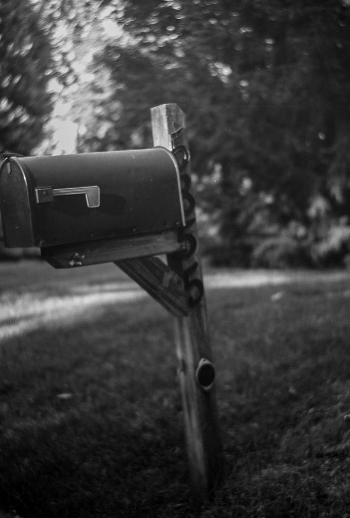 Off kilter mailbox