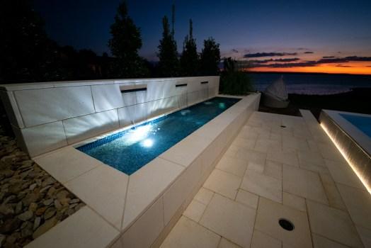 Allison Pools - Contemporary Swimming Pool
