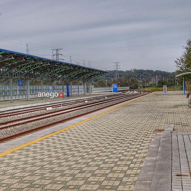 1日に一往復しかしない、都羅山駅。 class=