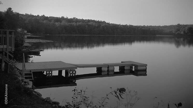 Dusk at Lake Desolation