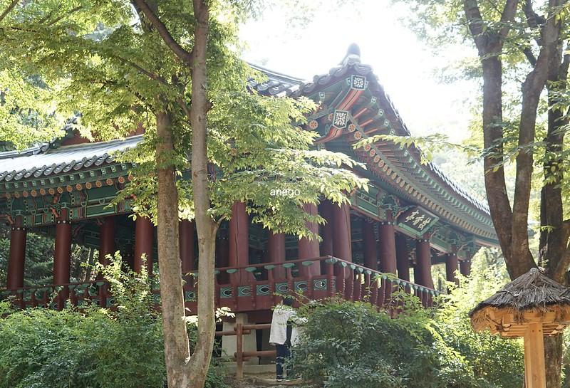韓国民俗村 王宮の建物っぽいものも