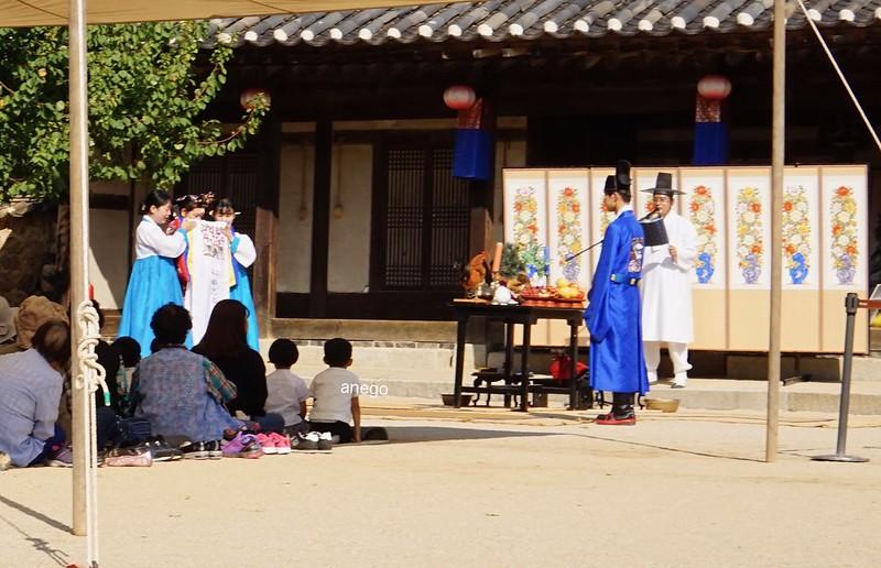 韓国民俗村 結婚式