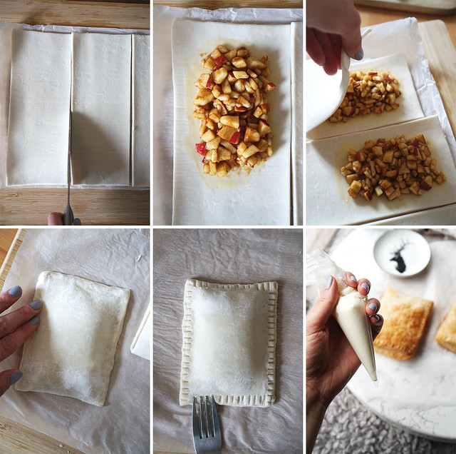 How to make gluten free apple and cinnamon toaster strudels at home from scratch