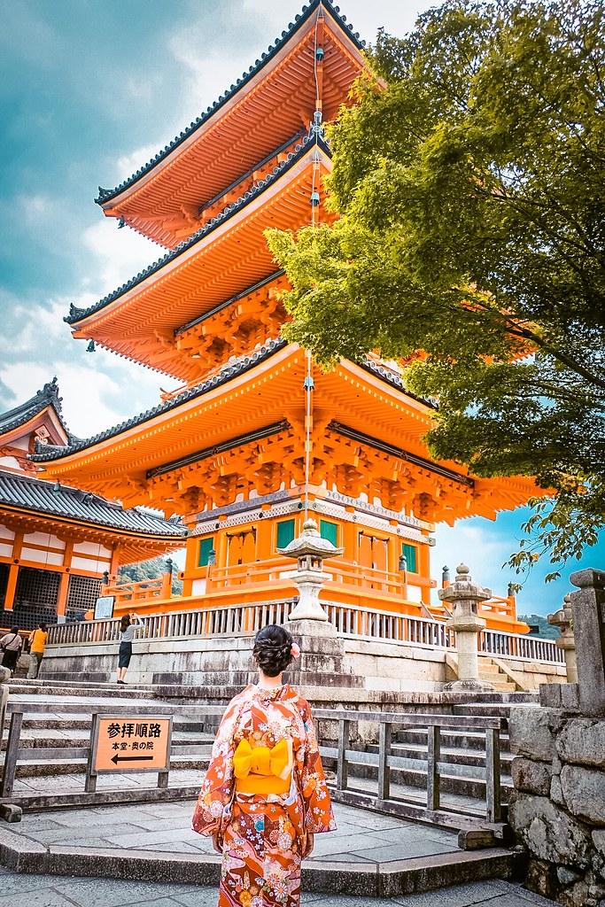 Kiyomizu-dera Temple   2 Days in Kyoto