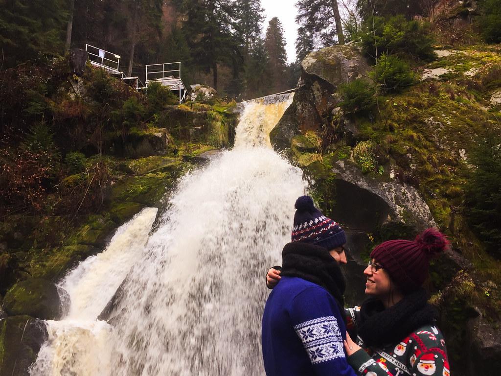 Cataratas del Triberg · Ruta y preparativos parta viajar y visitar los mejores y más bonitos pueblos de la Selva Negra en Navidad