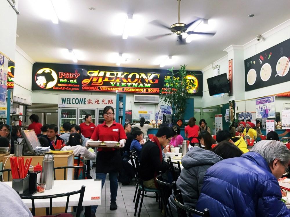 2 July 2016: Pho Bo Ga Mekong Vietnam | Melbourne CBD, Australia