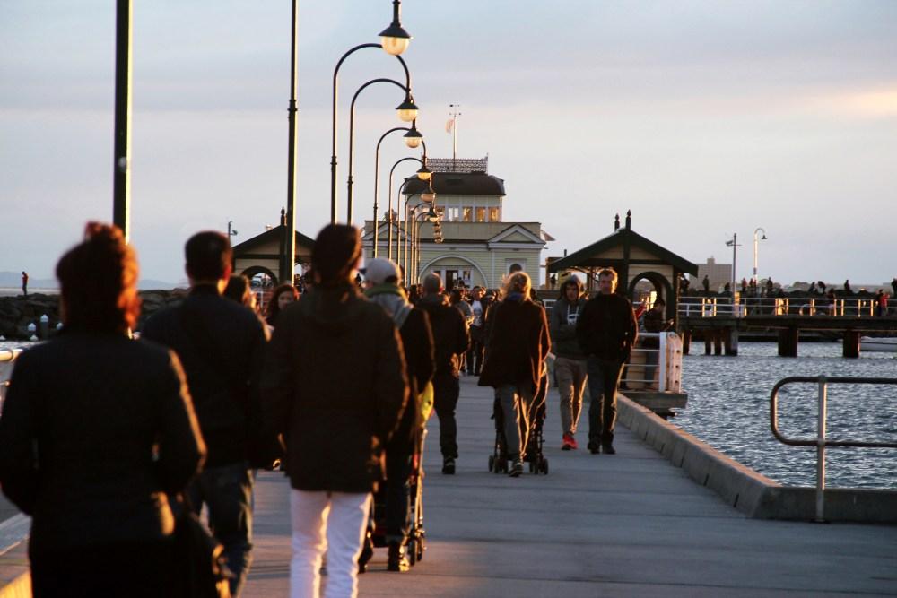 3 July 2016: St. Kilda Beach & Breakwater | St. Kilda, Melbourne, Australia