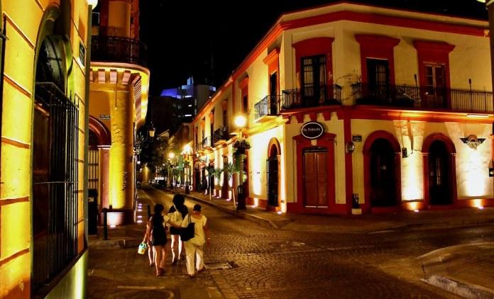 Calles del Centro Histórico, Mazatlán, Sinaloa.