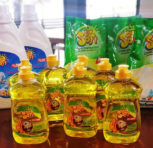 Sun Soft Zesty Lemon Dishwashing Liquid