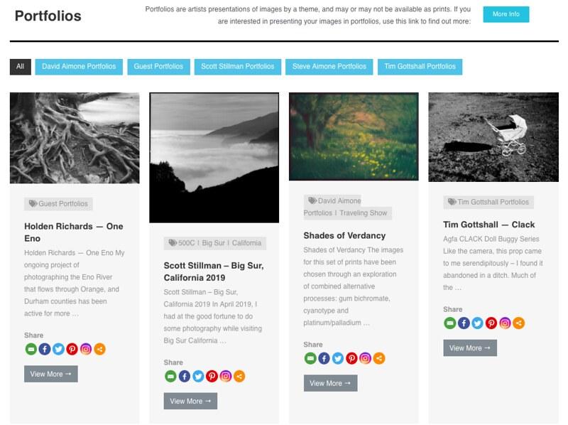 Publish a Portfolio on AimonePhoto and Get an Image Critique!