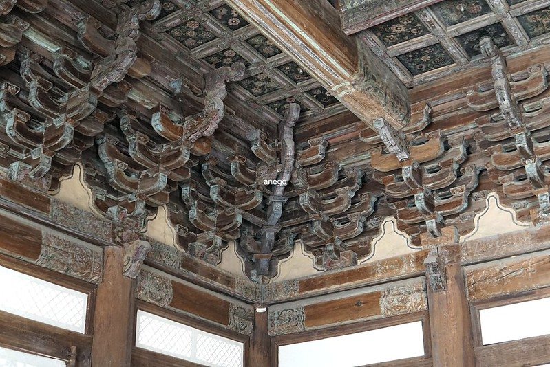 昌慶宮 明政殿 天井