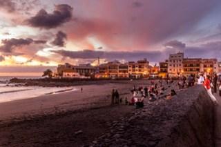 Abends in La Playa