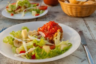 Salat und Gofio
