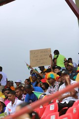 Scenes from SKNP vs TKR match at the Guyana National Stadium, Providence.