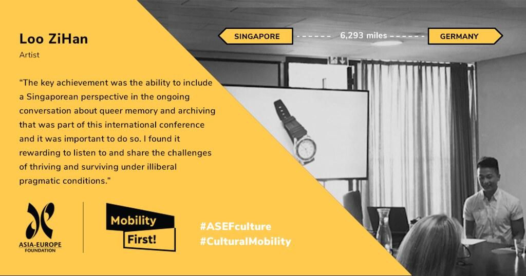 Mobility First! - ASEF Cultural Mobility Initiative 2019
