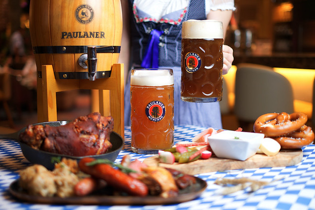 Paulaner Draught Beers - Classic and Dunkel