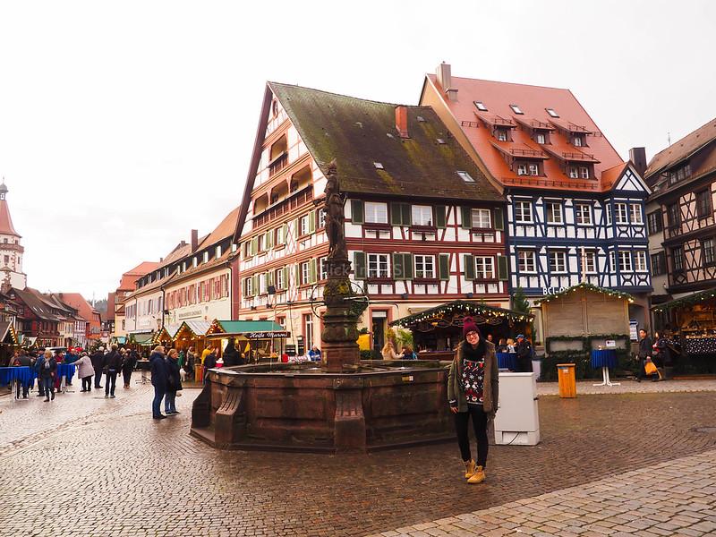 Qué ver en Gengenbach_Plaza del Mercado de Gengenbach_Ruta por los mejores pueblos de la Selva Negra en Alemania_ClickTrip