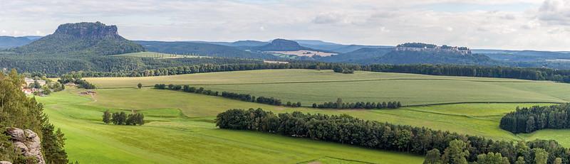 Tafelberge-Panorama