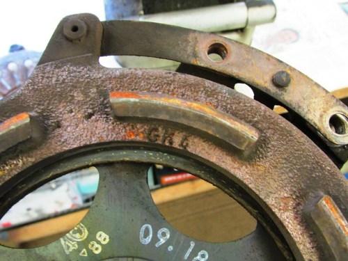 Pressure Plate Identifying Mark