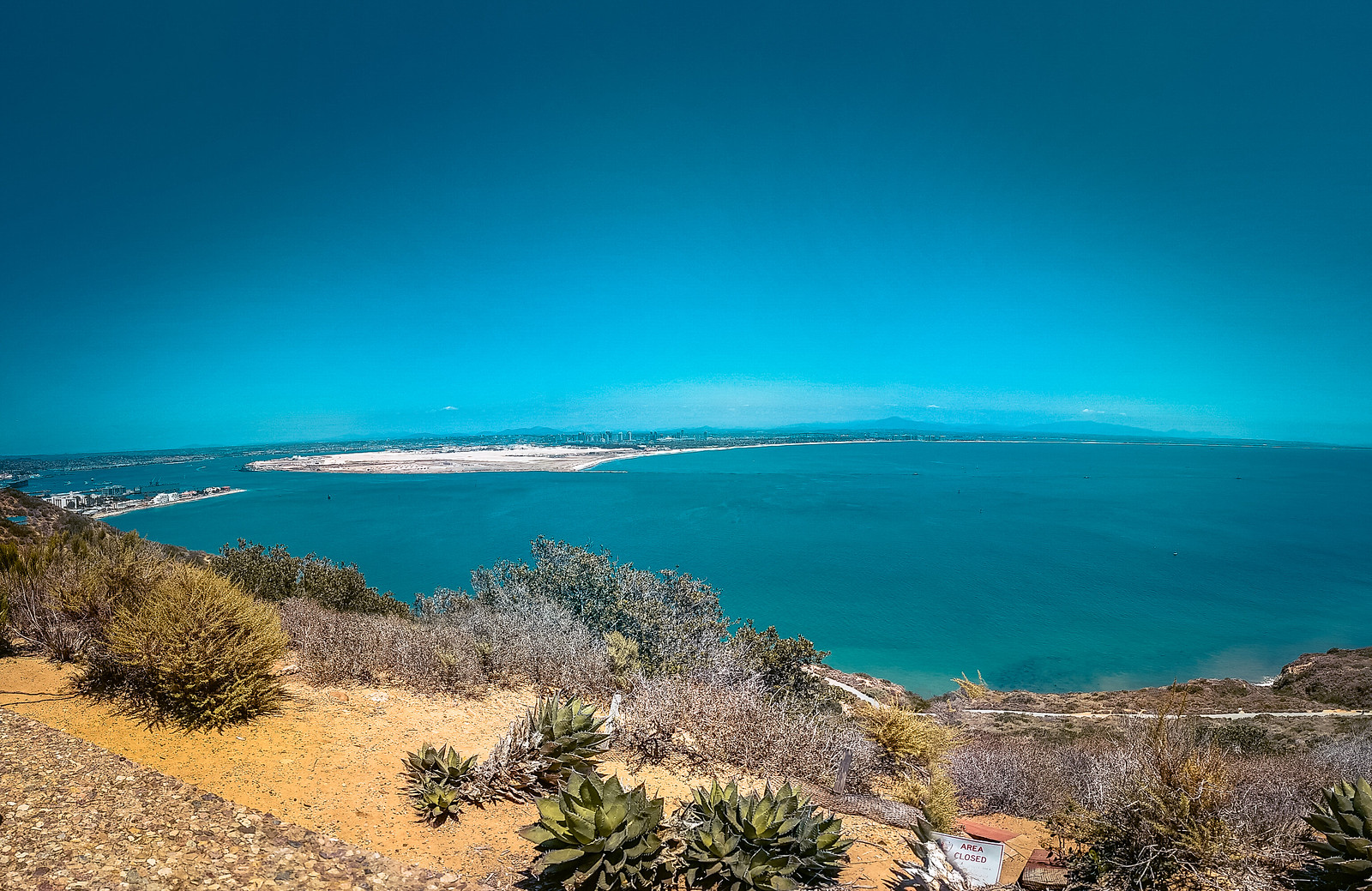 View from Cabrillo National Monument | San Diego Itinerary