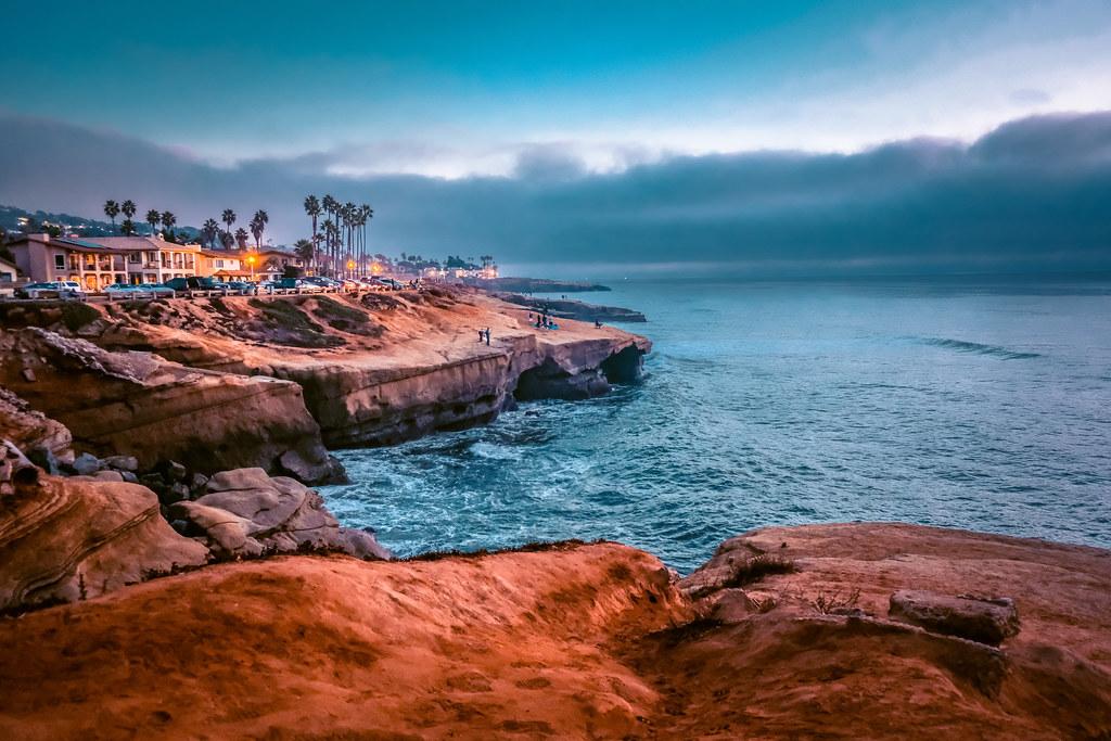 Sunset Cliffs in the Evening | Best views in San Diego