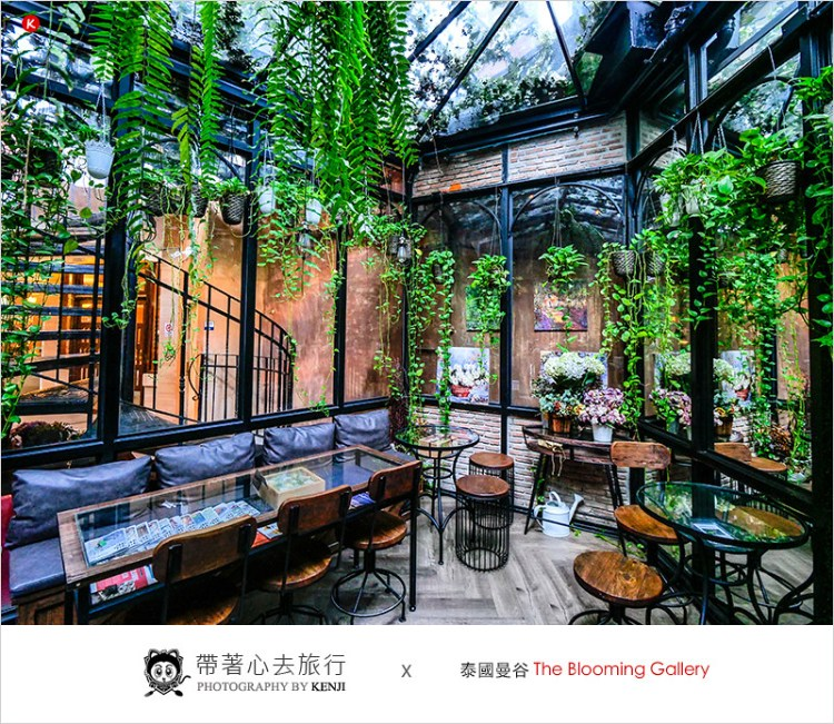泰國曼谷咖啡廳   The Blooming Gallery(Thong Lo)-曼谷花園森林系咖啡廳,早午餐、下午茶、甜點,超好拍照,網美必訪。