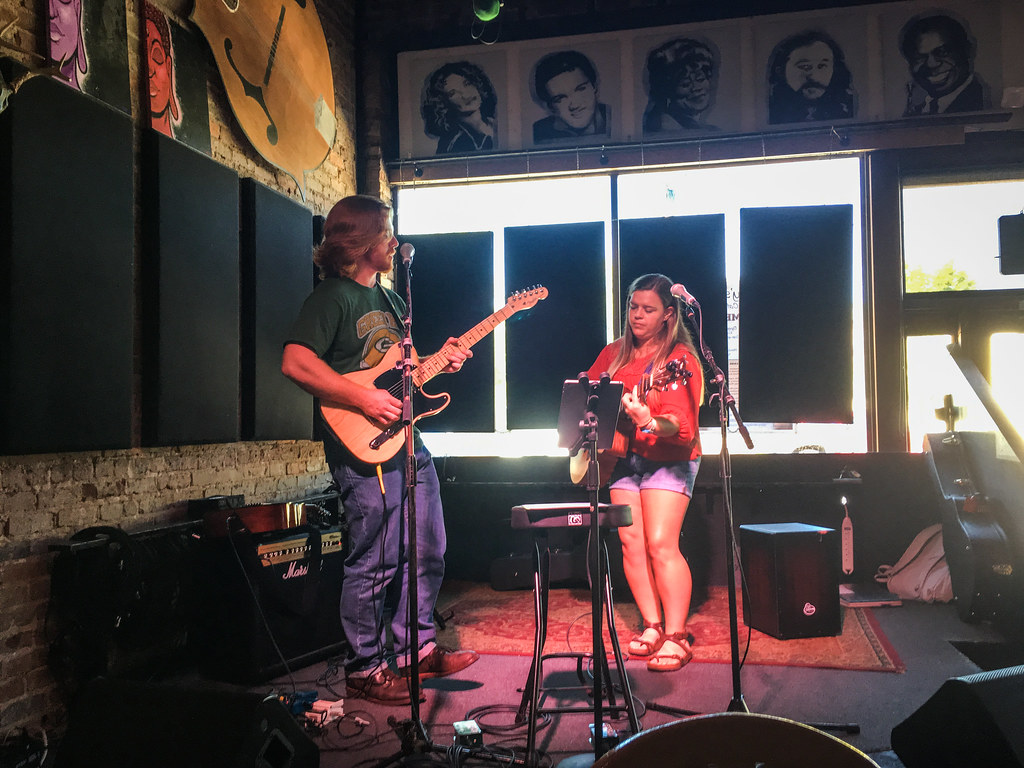 Joshua and Sara at Smiley's Acoustic Cafe