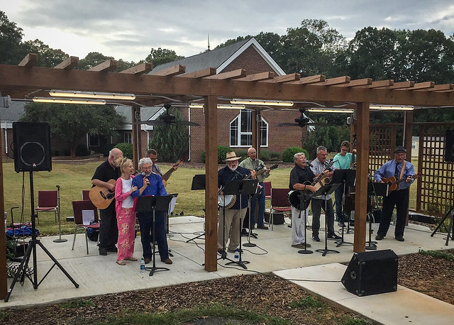 Upstate Gospel Pickers at Hopewell