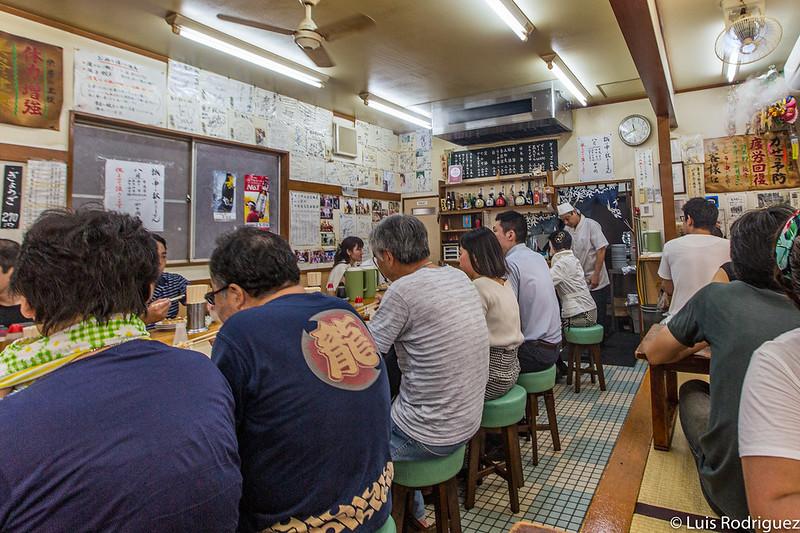 Interior de Kameido Gyoza