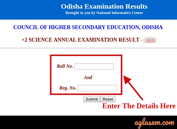 Odisha +2 Science Result 2020