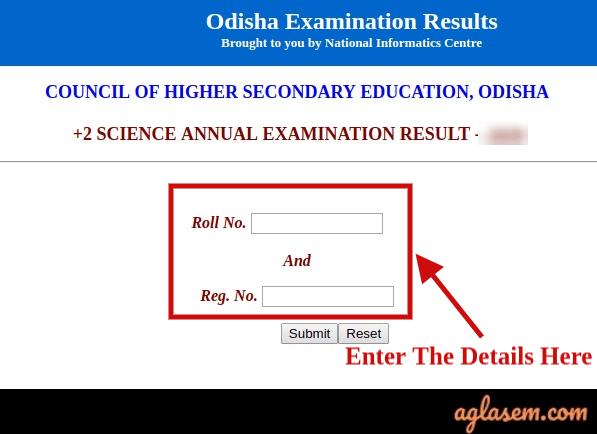 Odisha +2 Science Result 2020
