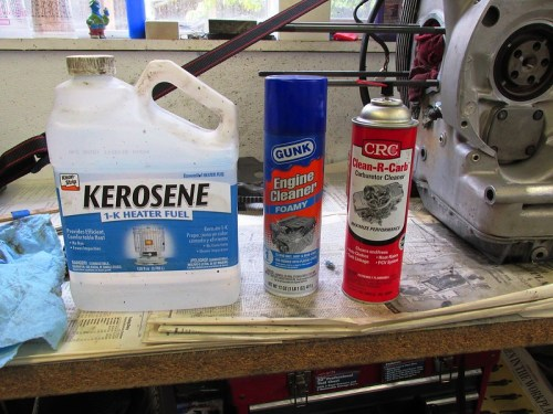 Solvents I Use to Clean Bell Housing Until It Shines