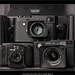 Leica M Monochrom 246, Leica CL analog, Minox 35