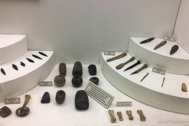 Археологический музей г. Конья, Чатал-Хююк, Турция
