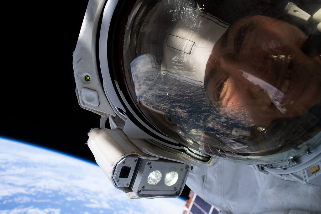 NASA astronaut Christina Koch takes an out-of-this-world