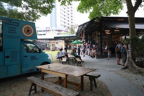 【2019再訪馬來西亞雙溪大年、檳城】檳城「Hin Pop-Up Market興公司週日快閃文創市集」/Bricklin Bar cafe