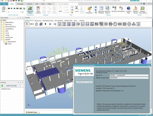 Working with Siemens Tecnomatix Plant Simulation 15.1.0 full