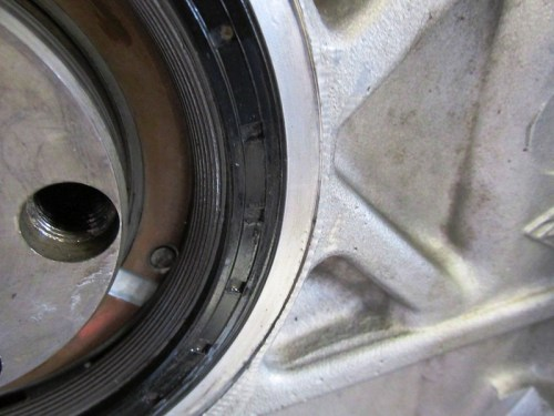 Rear Main Seal Flush Edge Flush With Engine Block