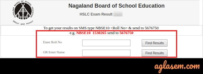 NBSE Result 2020